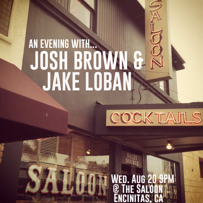 Jake Loban Josh Brown The Saloon Encinitas California Outlaw Country San Diego